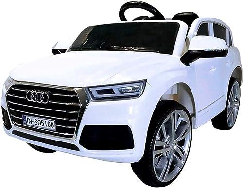 ventas directas de fábrica B87510 Coche Coche Coche eléctrico para Niños de 1 plazas AUDI Q5 con mando y 12V - blanco  los últimos modelos
