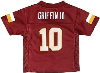 Outerstuff Robert Griffin iii NFL Washington Redskins Mid Tier Maroon Jersey Toddler 2T-4T