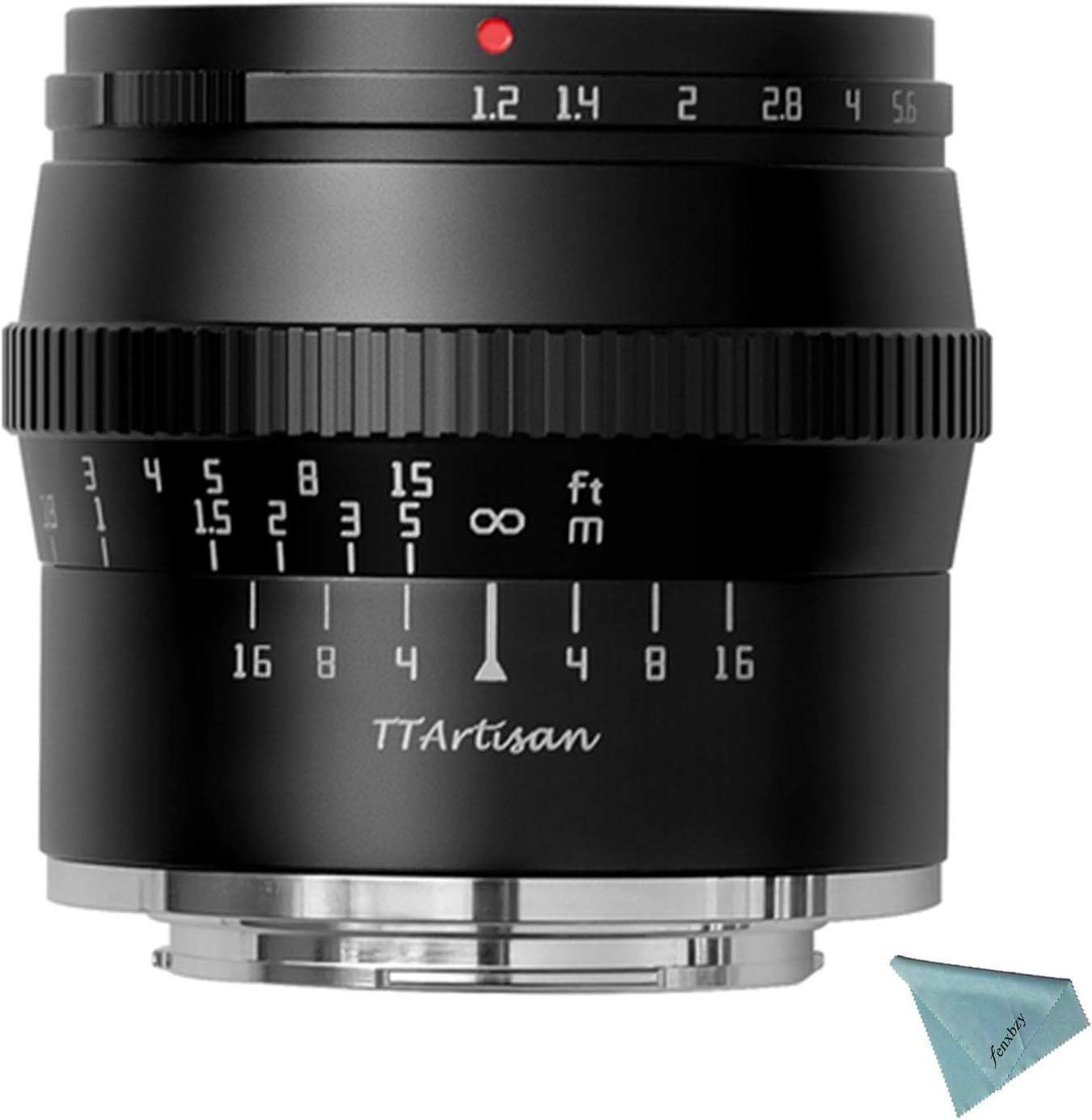 Nippon regular agency TTArtisan 50mm F1.2 APS-C Manual Large discharge sale Olymp Lens for Panasonic Focus
