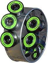 SunYard High Speed Inline Skate Skateboard ILQ-9 fit for ABEC-9 608RS Steel Bearings