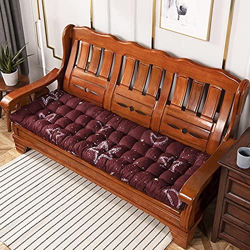 Topstylehouse Cojines cómodos para tumbonas, cojines reclinables y resistentes, para jardín, patio, cama reclinable (estilo, 48 x 120 cm, 1 unidad)