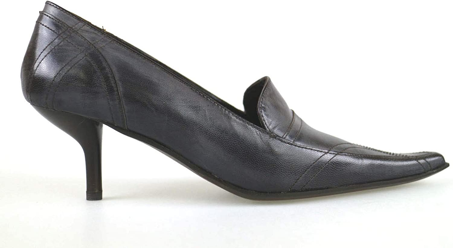 GIANNA GI Pumps-shoes Womens Leather Brown 9 US