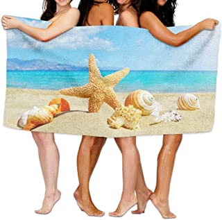 Motivo Romantico NTBED Tropical Wind 3D Ocean Beach Delfino e Stelle Marine 3 PCS,200x200cm Poliestere Stella Marina Double