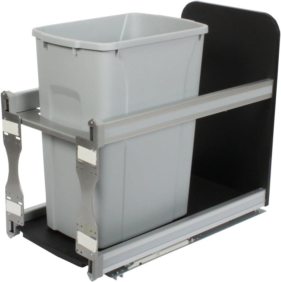 Knape Vogt USC12-1-35PT in-Cabinet Soft Out Max 85% OFF Trash Pull Close C Opening large release sale