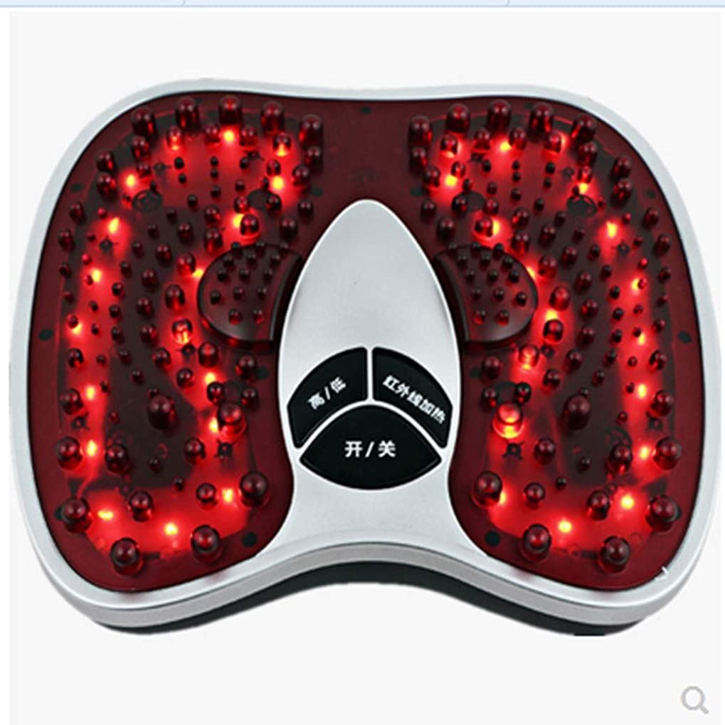 甘やかすカウボーイ思われる電気の 足のマッサージ、足のマッサージ足底筋膜炎疲れた足、神経障害、慢性、および神経痛に最適 人間工学的デザイン, red