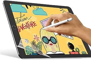واقي شاشة بيبر فيل من فيواوكس لايباد برو 12.9 انش (موديل 2020 و2018 بدون زر الصفحة الرئيسية)، مصنوع من البولي ايثيلين تريف...