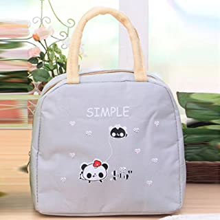 Elenxs Thermal Insulation Child Meal Warming Cartoon Thermal Insulation Lunch Bag