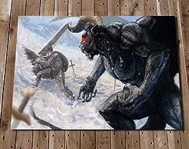 Berserk Art Print Poster - Guts Zodd the Immortal Illustration Painting - Independent Artist