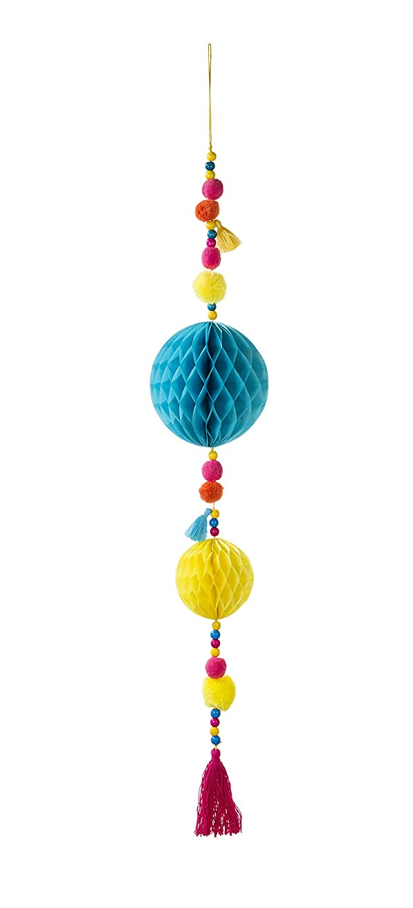 Talking Tables Boho Party Decorations | Boho Pom Pom Tassel | Great For Room Décor, Birthday Party, Baby Shower, Wedding And Bridal Shower