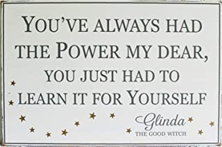 poloey Vinyl Wall Lettering Stickers Quotes and Saying You've Always Had The Power My Dear You Just Had to Learn It for Yourself