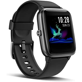 LATEC Reloj Inteligente, Impermeable IP68 Smartwatch Mujer Hombre ...