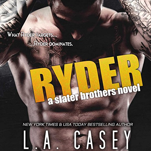 Ryder audiobook cover art