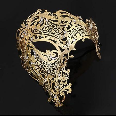 1 Masque,Loup Vénitien,Venise,Carnaval,Déguisements,Fetes,Fantôme noir