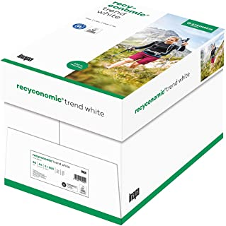 Papyrus Recyconomic Trend White Multifunction Paper DIN A480g 500Sheets White Pack of 5