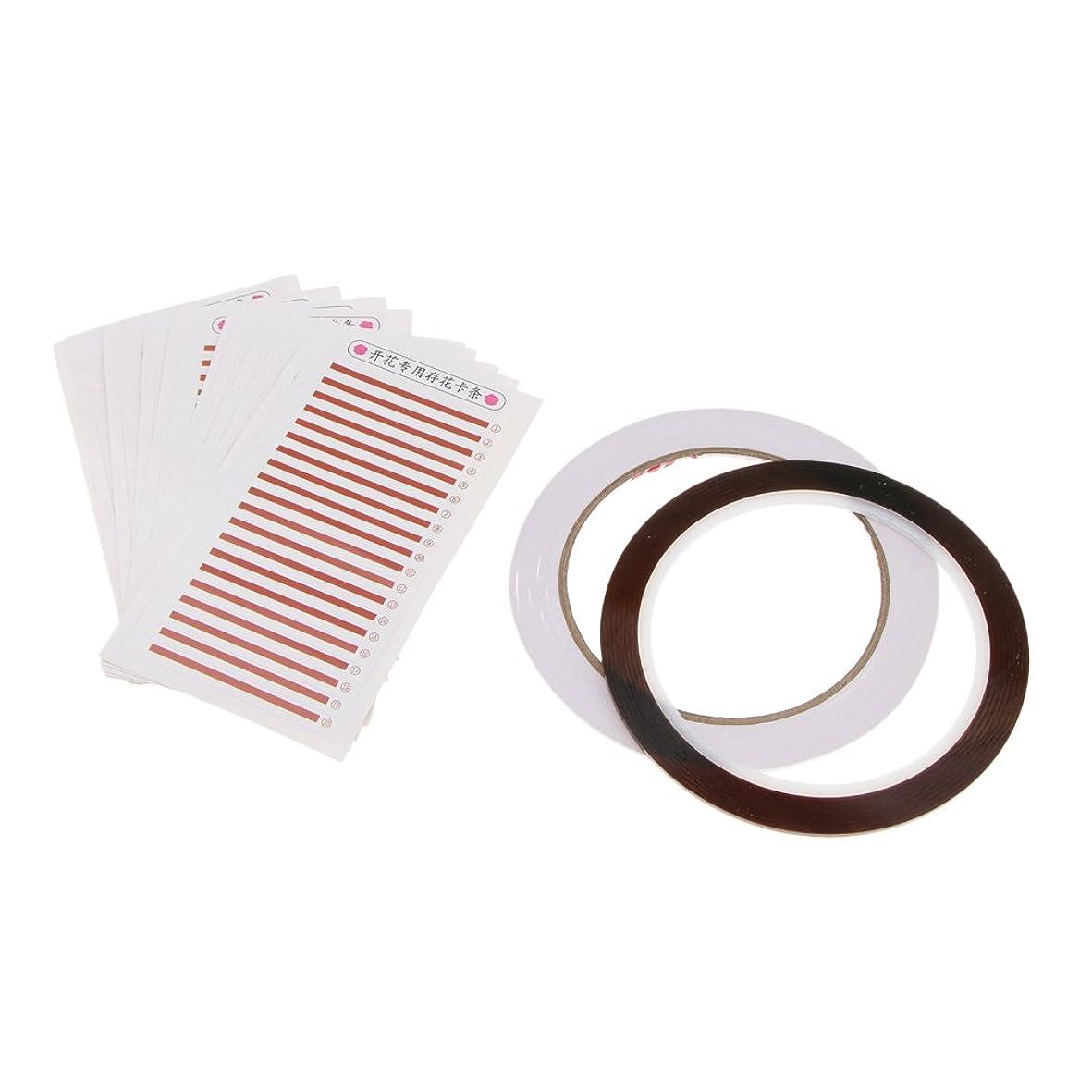 責西部中にKesoto 個々のまつげ 粘着性まつげカード 接着剤テープ まつげ 付けまつげ ボリューム 自然 メイクアップ