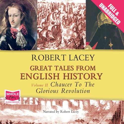 Great Tales from English History: Volume II cover art