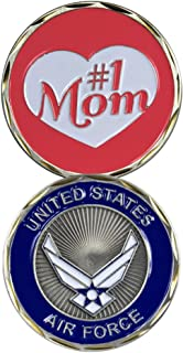 United States Air Force Number 1 Mom Challenge Coin