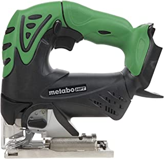 Metabo HPT CJ18DSLQ4 18V Cordless Jig Saw, Tool Only, No Battery, Three-Mode Orbital Action, 45° Cutting Angle, LED Light, Tool-LESS Blade Changing System, Lifetime Tool Warranty
