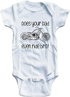 Boys Does your Dad even ride bro? Chopper style One piece