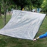WZF Red de sombreado 85% Sunblock Net Sombreado con Arandelas de Metal para Planta de Patio Lona de jardín Premium 150 g/m² (Dimensiones: 4x8 m)
