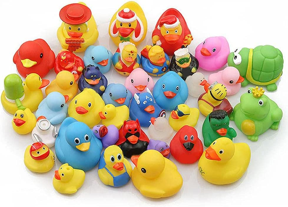 Mail order cheap ICRPSTU Under blast sales Halloween Fancy Novelty Assorted Ba for Fun Rubber Ducks