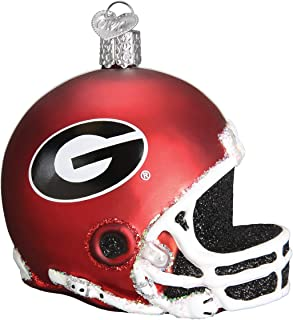 Old World Christmas 62317 Ornament, Georgia Helmet