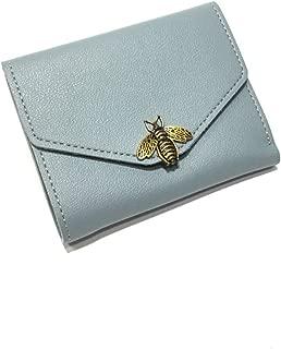 Mplus Smart Women Two fold Wallet Collection (Light Blue)