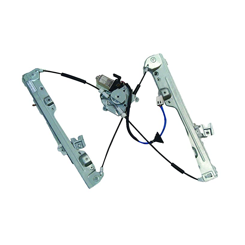 TYC 660498 Nissan MURANO Front Left Replacement Power Window Motor and Regulator Assembly
