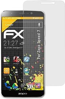 atFoliX Skärmskydd är kompatibel med Zopo Speed 7 Skyddsfilm, antireflekterande och stötdämpande FX Film (3X)
