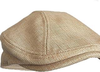 c684acac MELUNMHOM Winter Men's Hat Newsboy Cap Flat Beret Cap Wool Blend Vintage  Plaid Warm Bonnet X