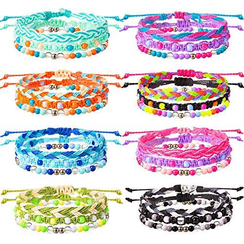 VSCO Friendship Bead Woven Bracelet for Tweens