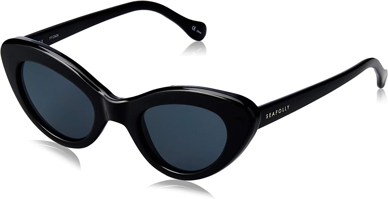 Seafolly Women's Airlie SEA1912606 Cateye Sunglasses,Black,48 mm