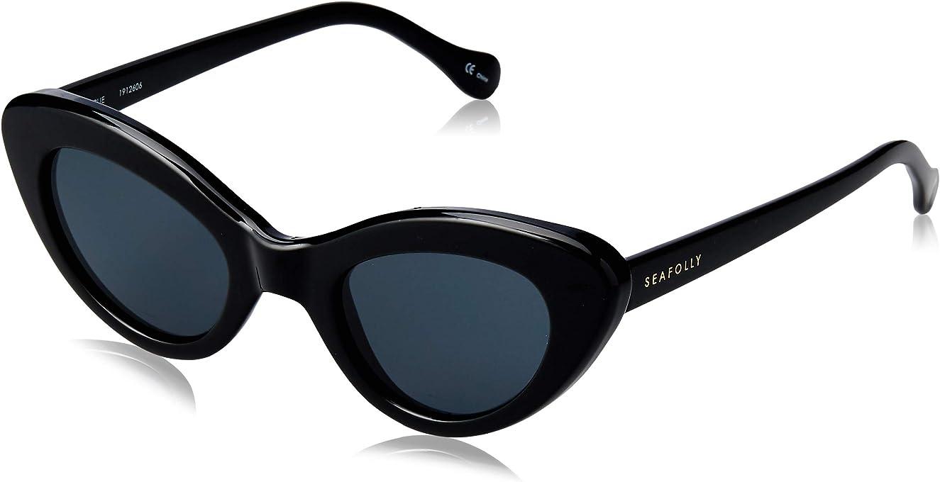 Seafolly Women's Airlie SEA1912606 Cateye Sunglasses,Black,48 mm