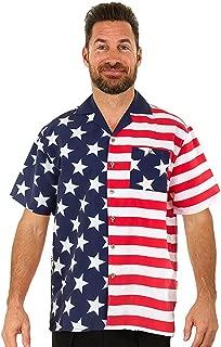 Men's Hawaiian Casual Button Down Short Sleeve Beach Surf Aloha Party Shirt