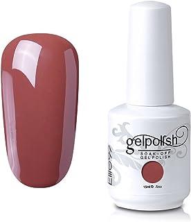 Qimisi Soak-Off Uv Led Gel Polish Nail Art Manicure Lacquer Cornflower Blue 111 15Ml (064 - Coral)