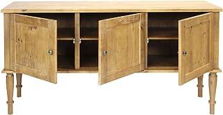 Aparador maciza rústico Olinda 160x 45 inspiración lacado mate cómoda 3puertas Madera Envejecido FSC n002524Aparado...