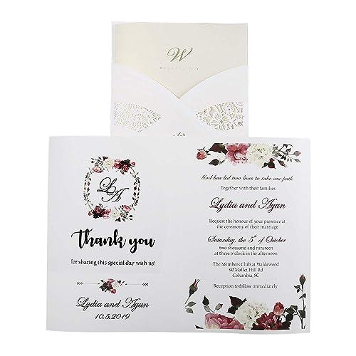 Make Your Own Wedding Invitations Amazoncom