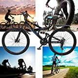 26 in Bike Men/Women Bikes, Yirise Mountain Bike 21-Speed Gear Road Bikes Adults Mountain Bike, 59x9.8X (23-27.5) in with MTB Break Lever - US Shipping