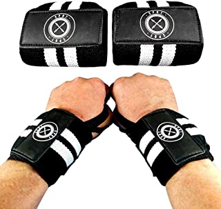 Spot Lion Fitness Wrist Wraps (Professional Quality) Powerlifting, Bodybuilding, Weight Lifting Wrist Supports for Weight ...