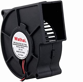 Wathai 12V 75mm x 30mm DC Brushless Cooling Turbo Blower Fan