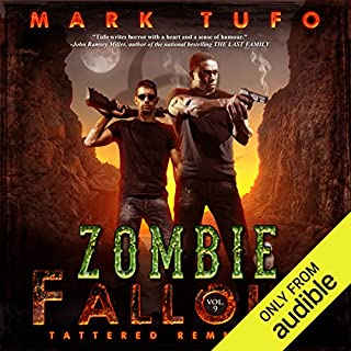 Tattered Remnants     Zombie Fallout 9              Auteur(s):                                                                                                                                 Mark Tufo                               Narrateur(s):                                                                                                                                 Sean Runnette                      Durée: 11 h et 29 min     12 évaluations     Au global 4,9