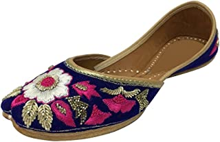 Step n Style Indian Bohemian Bridal Khussa Shoes Jutti Indian Ethnic Jutti