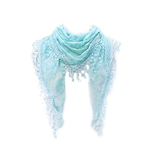 Aqua Pearlescent And Gold Mermaid Scale Pattern Scarfs Imported Lightweight Neckwear Blanket Wrap Winter Shawl