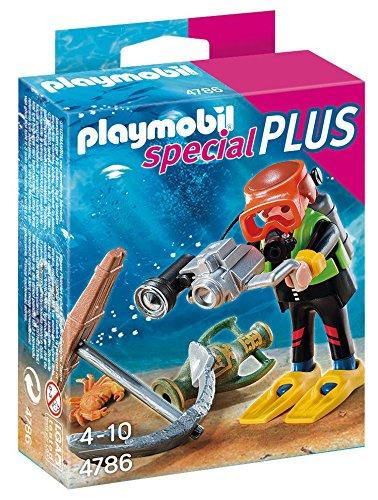 PLAYMOBIL Especiales Plus - Submarinista del Tesoro Playsets de Figuras de jugete, Color Multicolor 4786