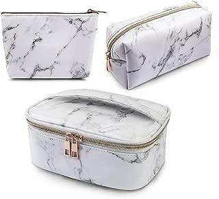 makeup bags marble