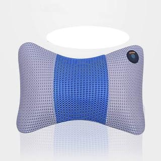 MORATER Cojín de masaje, cojín de masaje cervical, para el coche, casa, para relajar la presión cuando trabajas en casa y viajas en el coche.
