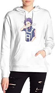 My Hero Academia Boku No Hero Shinso Hitoshi Hoodies Sweatshirt Adult Pullovers for Women
