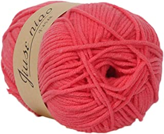 Centory Baby Yarn Soft Wool for Knitting and Crochet in Bulky Wool Ease Thick and Quick Self Striping Yarn