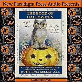 The Book of Halloween audiobook cover art