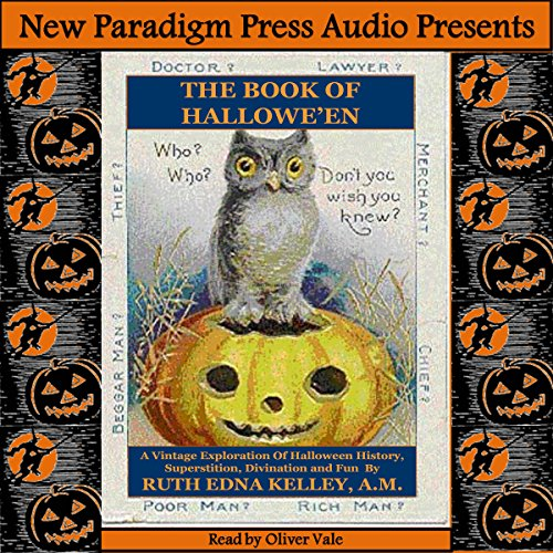The Book of Halloween audiobook cover art